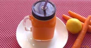 zumo zanahoria y limon