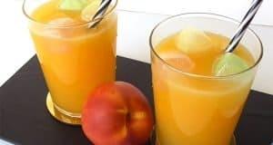Limonada de nectarina