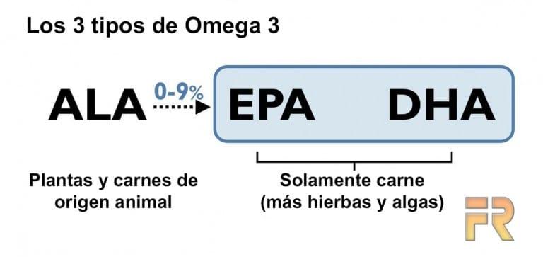 Semillas de chía omega 3.