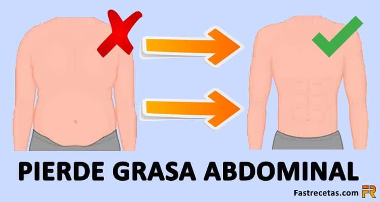 pierde grasa abdominal