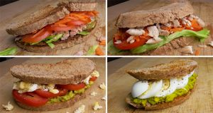 4 Tostadas saludables o sandwiches